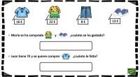 A continuación os dejamos una serie de problemas matemáticos ilustrados con divertidos dibujos para facilitar la realización de los mismos.