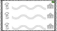 A través de trazos curvos vamos a trabajar el desarrollo psicomotor con el siguiente ejercicio de grafomotricidad. . El desarrollo grafomotriz del niño tiene como objetivo fundamental completar y potenciar […]