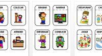 Os hemos preparado 100 tarjetas para trabajar los verbos en nuestra clase de una forma manipulativa, con ellos podemos contar historias hacer oraciones y frases, describir acciones, etc. . Material […]
