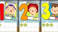 A que esperas para descarte este divertido material sobre ABN, se trata de asociar número-cantidad, con divertidas imágenes de toy story 4