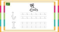 Sencilla actividad para practicar las cinco vocales, tanto en mayúscula como en minúscula. Con divertidos dibujos para repasar la grafomotricidad.