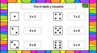 Una divertida forma de practicar las tablas de multiplicar ahora en verano y para hacerlo más ameno es a través del juego, por eso os hemos preparado este tablero. La […]