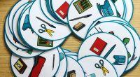 Juego para encontrar el elemento común entre distintas tarjetas con pictogramas relacionados con el colegio. A partir de estos juegos, trabajamos la discriminación visual, la concentración, los reflejos y el […]