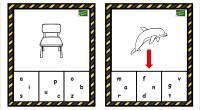 En la siguiente actividad hay que señalar el recuadro en el que aparece algunas de las letras que forman la palabra del dibujo. Un ejercicio enfocado para trabajar en el […]