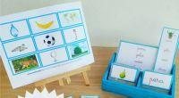 Ya está lista la tercera Serie de inspiración Montessori: la Azul. Ésta consta de palabras bisílabas. Os recuerdo el orden de las series: Serie Blanca: Sonidos de las letras (tenéis […]