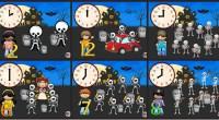 Los esqueletos Canción infantil CUANDO EL RELOJ MARCA LAUNALAS CALAVERAS SALEN DE SU TUMBA CHUMBALA, CACHUMBALA, CACHUMBALA (BIS) CUANDO EL RELOJ MARCA LASDOSLAS CALAVERAS MIRAN EL RELOJ CHUMBALA, CACHUMBALA, CACHUMBALA […]
