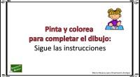 La comprensión de instrucciones es una buena estrategia para trabajar la lectura y su desarrollo. Con este ejercicio nuestros alumnos deben comprender las frases para poder completar el dibujo. Este […]