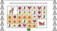 Uno de los pasatiempos preferidos de los niños y una buena estrategia para trabajar con la atención son los laberintos; en esta ocasión utilizamos la temática de Navidad para motivar […]