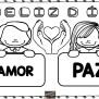 Bonitos Carteles Para Colorear Día Del Amor Y La Amistad