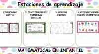 A continuación, os dejamos 4 actividades de matemáticas para trabajar en Infantil.