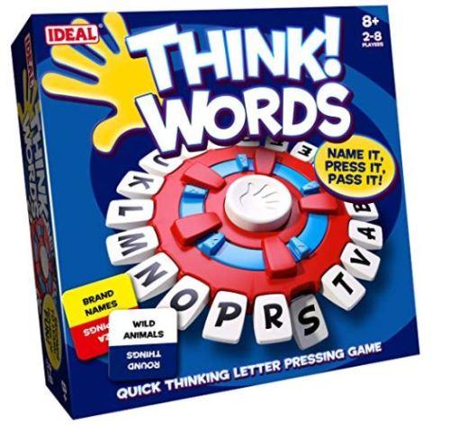 Juego de mesa think words