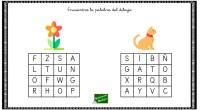 La realización de pasatiempos como las sopas de letras, son un recurso muy recurrente en las aulas para entrenar diferentes habilidades cognitivas como la atención o la competencia lingüística.