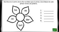 No es la primera vez que compartimos este divertido ejercicio: la flor de las palabras. Son diferentes versiones las que hemos ido compartiendo en el blog; todas ellas están pensadas […]