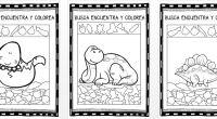 Actividades para trabajar la atención selectiva en la que nuestros alumnos deben de buscar, encontrar y colorear una serie de objetos que esta distribuidos por unos divertidos dibujos de dinosaurios. […]