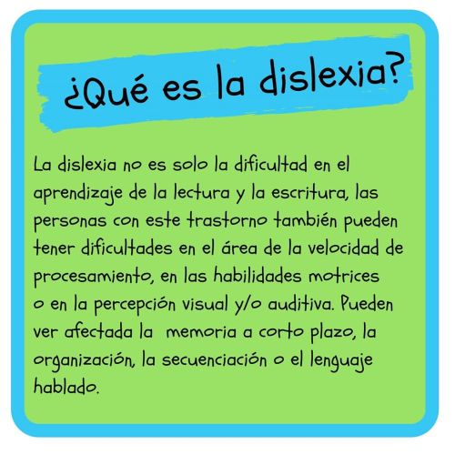 DISLEXIA ✏ - INFOGRAFÍA ¿Qué es? ALGUNAS CONSIDERACIONES y ...