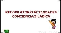 Os hemos preparado este recopilatorio de las mejores actividades de nuestro blog para trabajar la conciencia silábica.