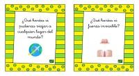 Nueva colección de tarjetas para trabajar el pensamiento creativo y la expresión oral con la divertida estrategia: «¿Qué harías si…?». Se propondrán situaciones surrealistas o disparatadas que nuestros alumnos deben […]