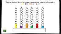 DESCARGA LA ACTIVIDAD EN PDF Escribe el número (6 cifras)representado en el ábaco
