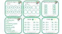 Destinadas al primer nivel de Educación Primaria. Incluyen actividades como: -Ordenar números. -Series ascendentes/descendentes. -Anterior y posterior. -Escribir con cifras el número que se indica. -Cálculo básico de sumas y […]