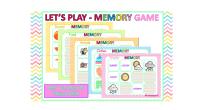 5 MEMORY GAMES interactivo para aprender o repasar vocabulario en inglés