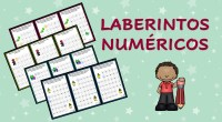 Los laberintos numéricos son un excelente recurso ya que además de ejercitar la atención permite trabajar la competencia matemáticas a través de las series numéricas. Os compartimos esta completa colección […]