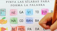 Hoy en las actividades de verano, usamos uno de nuestros materiales, para trabajar las sílabas, tan importante de trabajar en las edades tempranas!