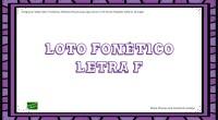Los juegos didácticos tradicionales de lotos forman parte del material básico de la reeducación logopédica. En nuestro caso os hemos preparado un loto con pictogramas con de la letra «f».