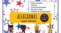 Catwoman, Ironman, Storm y Wolwerine nos acompañarán en el maravilloso mundo de los alfagramas. Pero… ¿Qué es un alfagrama? Un alfagrama es un tipo de caligrama. CALIGRAMA:palabra o frase que […]