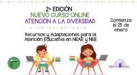 Curso Online. «Recursos y Adaptaciones para la atención educativa en NEAE y NEE» No te pierdas la segunda edición de nuestra formación 100 % online que tanto gustó en abril […]