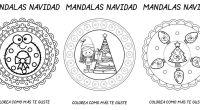 DESCARGA LAS MANDALAS EN PDF 10 NUEVOS MANDALAS DE NAVIDAD LISTAS PARA COLOREAR