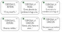 MEMORIA. Hoy os traemos unas tarjetas para trabajar la estimulación o rehabilitación cognitiva en adultos. Se compone de un conjunto de 36 tarjetas en las que han de terminar refranes, […]