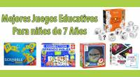 Queremos recomendaros estos fantásticos juegos de mesa educativos para niños de más de 7 años. Son juegos que nuestro equipo ha seleccionado para que puedan comprar, elegidos por lo divertidos […]