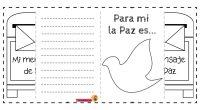 🕊 Día de La Paz 🕊 💡 En Navidad se me ocurrió crear esta sencilla actividad para el día de La Paz 🕊 Cada niño/a creará su mensaje de Paz […]