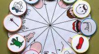 Sandra Yago rosa comparte esta fantástica idea y material que consiste en una ruleta y tarjetas con pictogramas para elegir aleatoriamente el disfraz de Carnaval. Seguro que va a ser […]