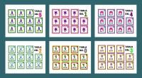 Comparto con vosotr@s once juegos de memoria para practicar las tablas de multiplicar. INSTRUCCIONES DE JUEGO 😀 Imprime, recorta y plastifica las tarjetas. 😀 Baraja y ponlas boca abajo. 😀 […]