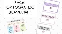 🔡 LLAVEROS ORTOGRÁFICOS 🔡 • Hoy os traigo un pack que he preparado con la teoría de la parte de ortografía. Incluye 40 tarjetas divididas en: 🔸Uso de las mayúsculas, […]
