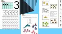 Hoy comparto con todos nuestros seguidores unas geniales actividades en forma defichas para trabajar los números. Fichas educativas de matemáticas para trabajar el reconocimiento de números y el conteo.