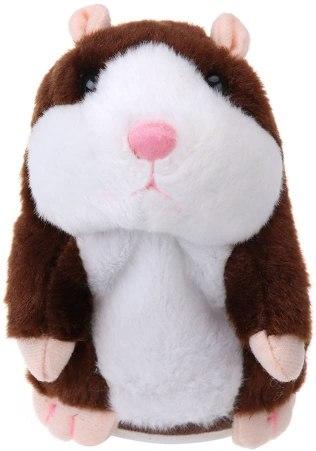 Hamster parlante repetidor de palabra