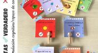 TARJETAS ✅VERDADERO ❌ FALSO ➡️ Estimulación cognitiva, motricidad fina, repaso de contenidos y vocabulario de verano ☀️ (Nivel: INFANTIL y PRIMARIA) Repasamos los contenidos con este divertido juego de tarjetas […]
