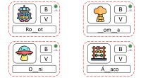 ¡Hola! Seguimos con la PARTE 2 de las tarjetas ortográficas que tanto os gustaron para trabajar la B y la V. En este caso, os traemos otras 40 tarjetas que […]