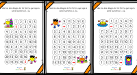 Los laberintos numéricos, son un excelente recurso no sólo para trabajar la atención y concentración de niños, además son útiles para repasar series numéricas sencillas como las que trabajamos en […]