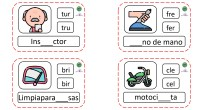 ¡Hola! Hoy os traemos las 40 últimas tarjetas para trabajar las sílabas trabadas con los más peques, sílabas que, muchas veces, se les atragantan en el proceso de adquisición de […]
