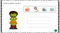A continuación, os presento una divertida actividad para que nuestros alumnso trabajen la expresión escrita y la escritura creativa. El objetivo del ejercicio es que los alumnos averiguen que le […]