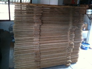 Bamboo flooring installation - acclimitization