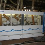 This is an example of a high quality factory - this machine creates the T&G profile