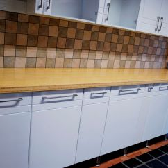 Kitchen Tops Wood Island Clearance Solid Bamboo Countertops Worktops Natural Counter Top