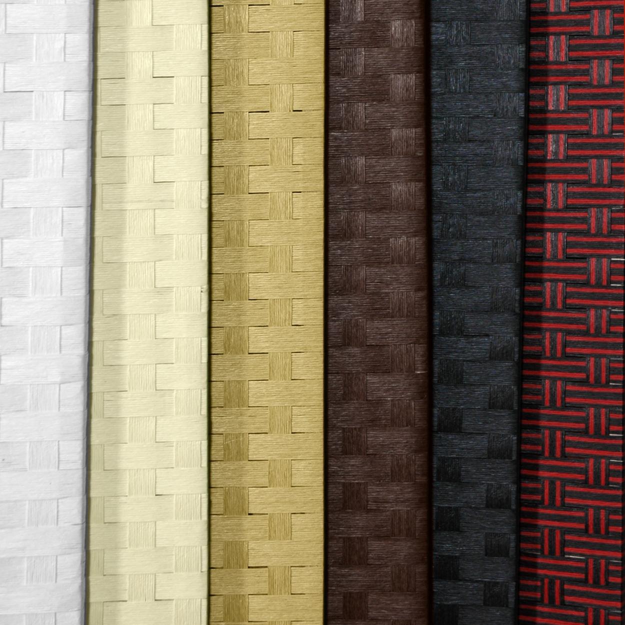 7 ft tall woven fiber room divider