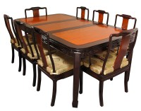 Dining Table: Rosewood Oriental Dining Table