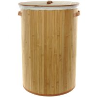 Bamboo Laundry Hamper - OrientalFurniture.com