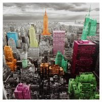 High-Lights of New York Skyline Canvas Wall Art ...